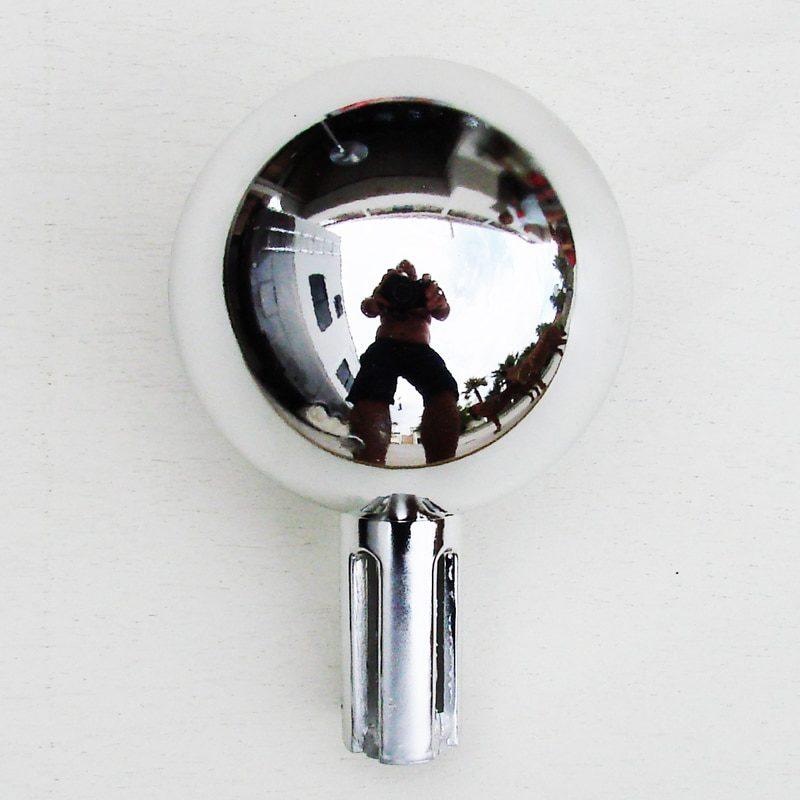 Chrome Ball Flagpole Topper