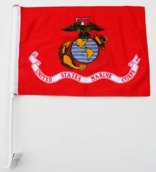 Marine Car Flag, Car Flags, Marine Flag, USMC Flags, Military Flags