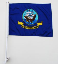 Navy Car Flag, Car Flags, Navy Flags, US Navy Flag, Military Flags