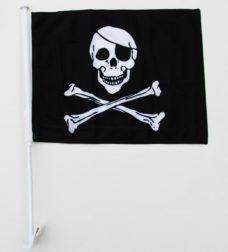 Pirate Car Flag, Car Flags