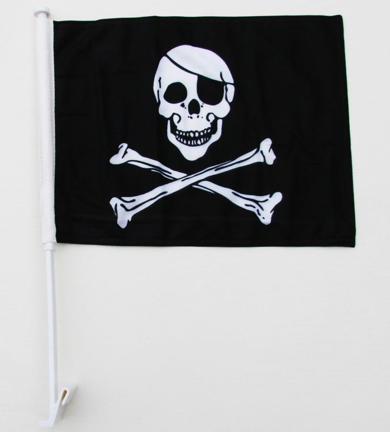Pirate Car Flag, Car Flags