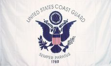 Coast Guard Flag, Military Flags, Maritime Guard Flag, US Guard Flag