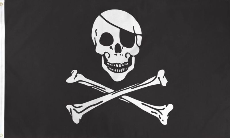 Pirate Flag, Skull and Crossbones Flag, Jolly Roger Flag, Skull Flags, Arrrr flags