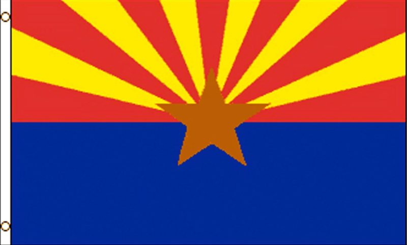 Arizona State Flag, State Flags, Arizona Flag, Arizona State