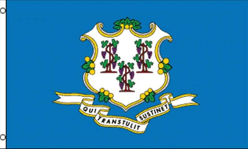 Connecticut State Flag, State Flags, Connecticut Flag, Connecticut State