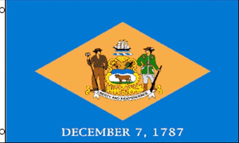 Delaware State Flag, State Flags, Delaware Flag, Delaware State