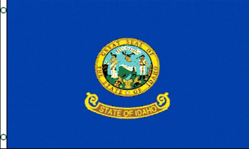 Idaho State Flag, State Flags, Idaho Flag, Idaho State