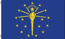 Indiana State Flag, State Flags, Indiana Flag, Indiana State