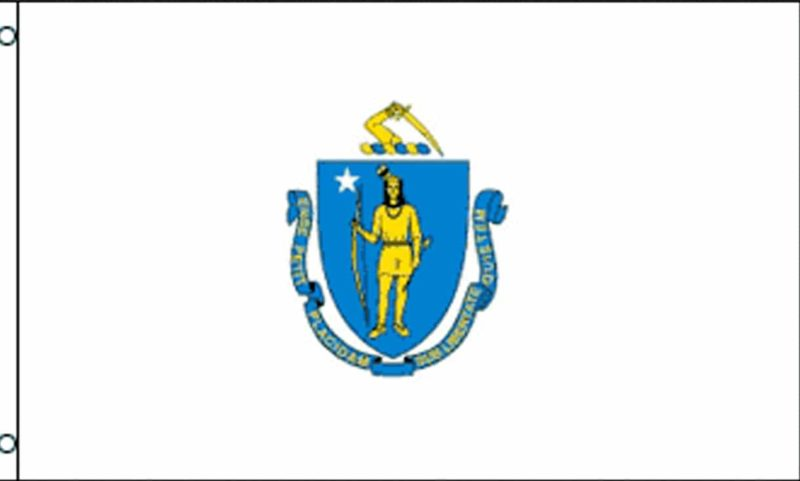 Massachusetts State Flag, State Flags, Massachusetts Flag, Massachusetts State