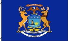 Michigan State Flag, State Flags, Michigan Flag, Michigan State