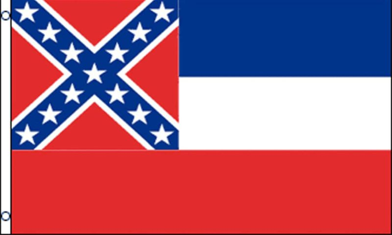 Mississippi State Flag, State Flags, Mississippi Flag, Mississippi State