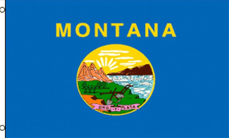 Montana State Flag, State Flags, Montana Flag, Montana State