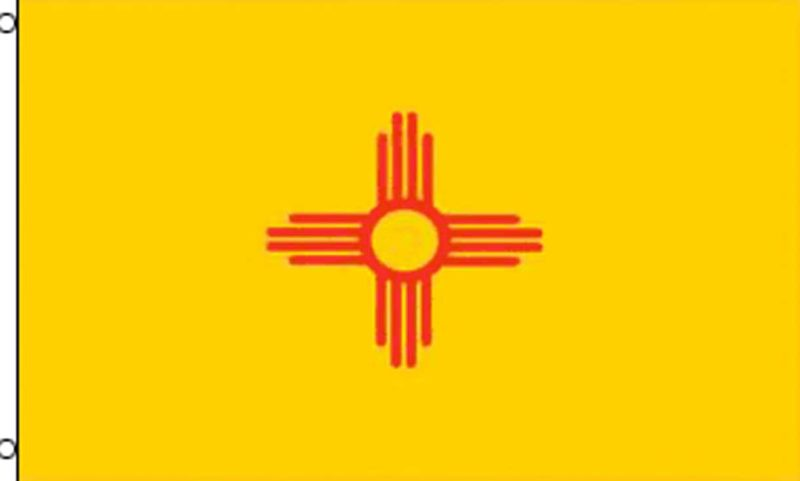 New Mexico State Flag, State Flags, New Mexico Flag, New Mexico State