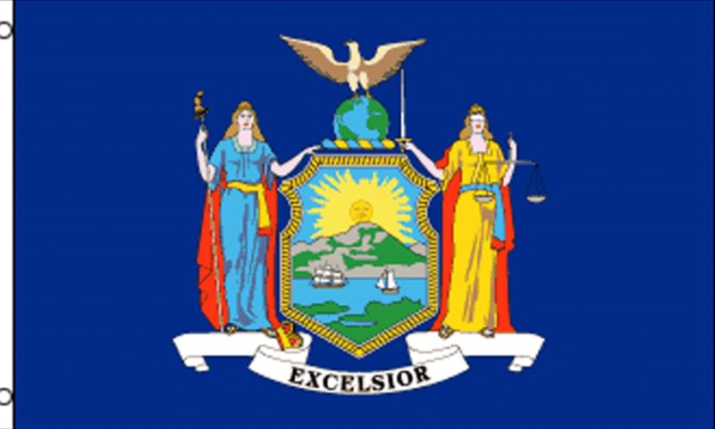 New York State Flag, State Flags, New York Flag, New York State