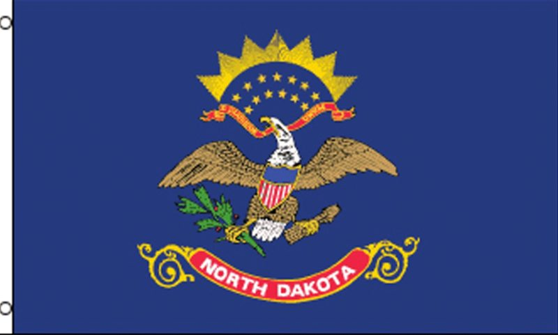 North Dakota State Flag, State Flags, North Dakota Flag, North Dakota State