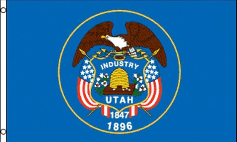 Utah State Flag, State Flags, Utah Flag, Utah State