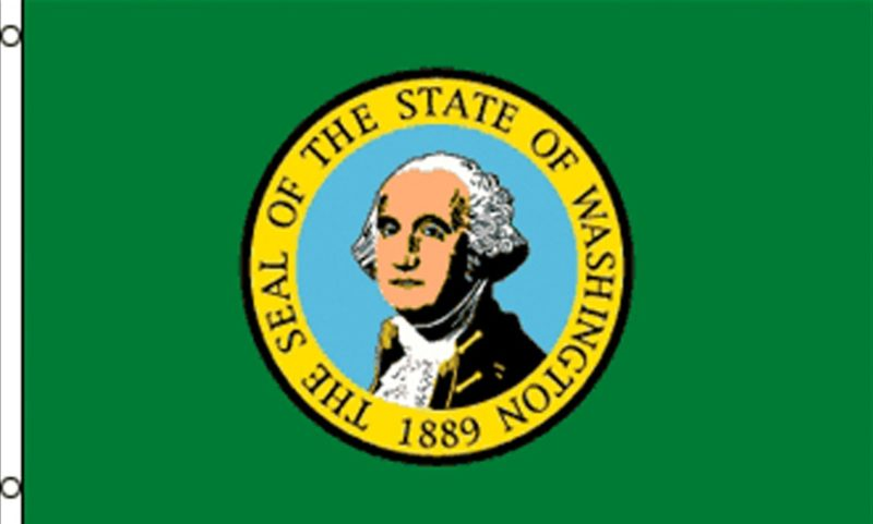 Washington State Flag, State Flags, Washington State