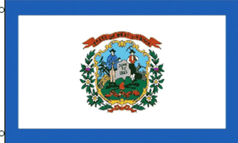 West Virginia State Flag, State Flags, West Virginia State, West Virginia