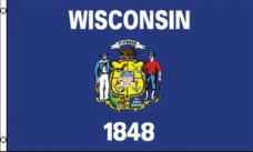 Wisconsin State Flag - State Flags - Wisconsin Flag, Wisconsin State