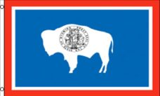 Wyoming State Flag, State Flags, Wyoming Flag, Wyoming State