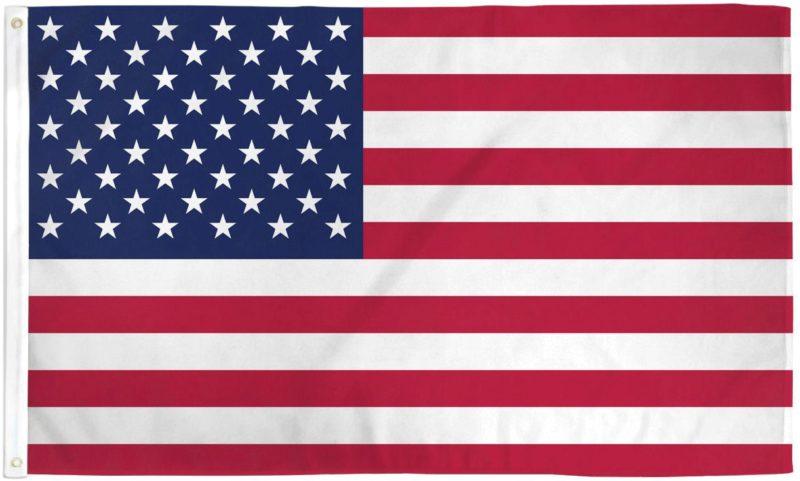 USA Flag Poly, USA Flag, American Flag, USA
