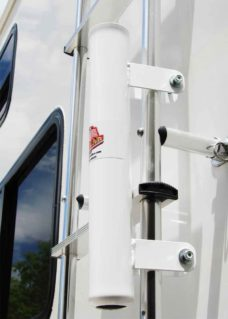 Ladder Flagpole Mount