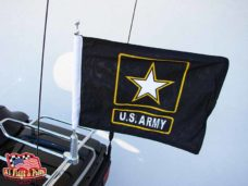 Motorcycle Flagpole with Army Star Flag, Motorcycle Flagpoles with USA Flag, Motorcycle Flagpole and Flags, Motorcycle Flags, Harleys, Motorcycles